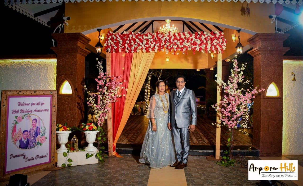 25th wedding anniversary of Devanand and Darta